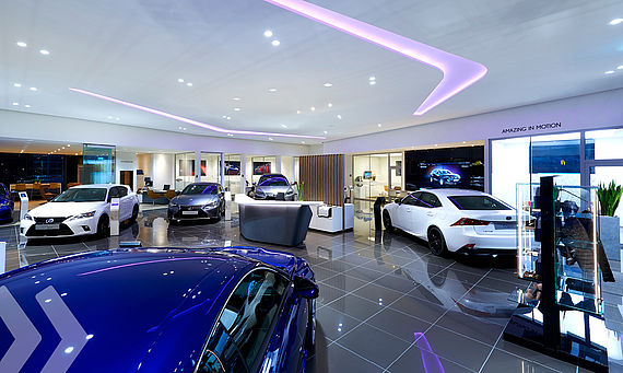 Lexus Showroom
