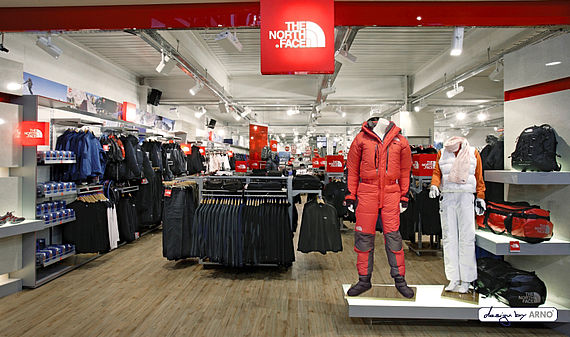 The North Face Shop in Shop