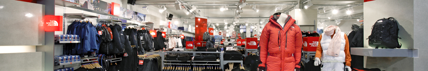 The North Face Shop in Shop 1