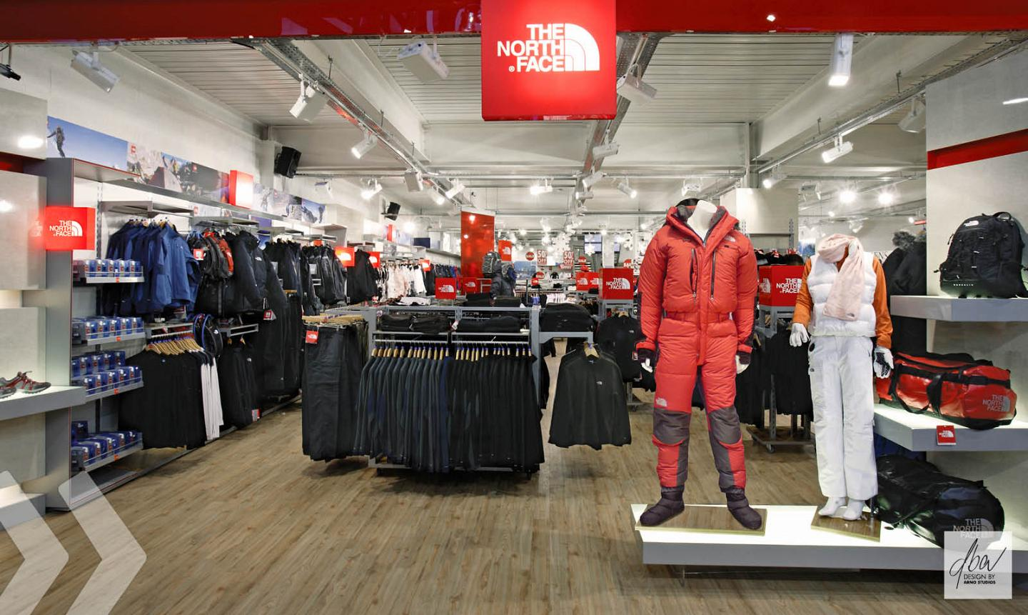 The North Face Shop in Shop 3
