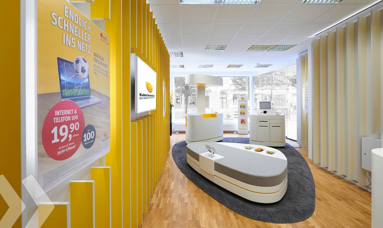 kabel deutschland store arno group. Black Bedroom Furniture Sets. Home Design Ideas