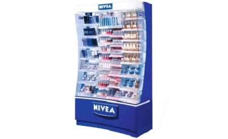 NIVEA Counter - SILVER