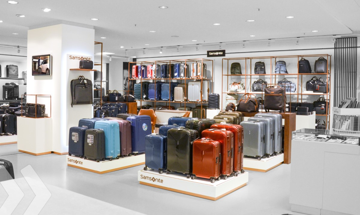 Samsonite Shop in Shop 2