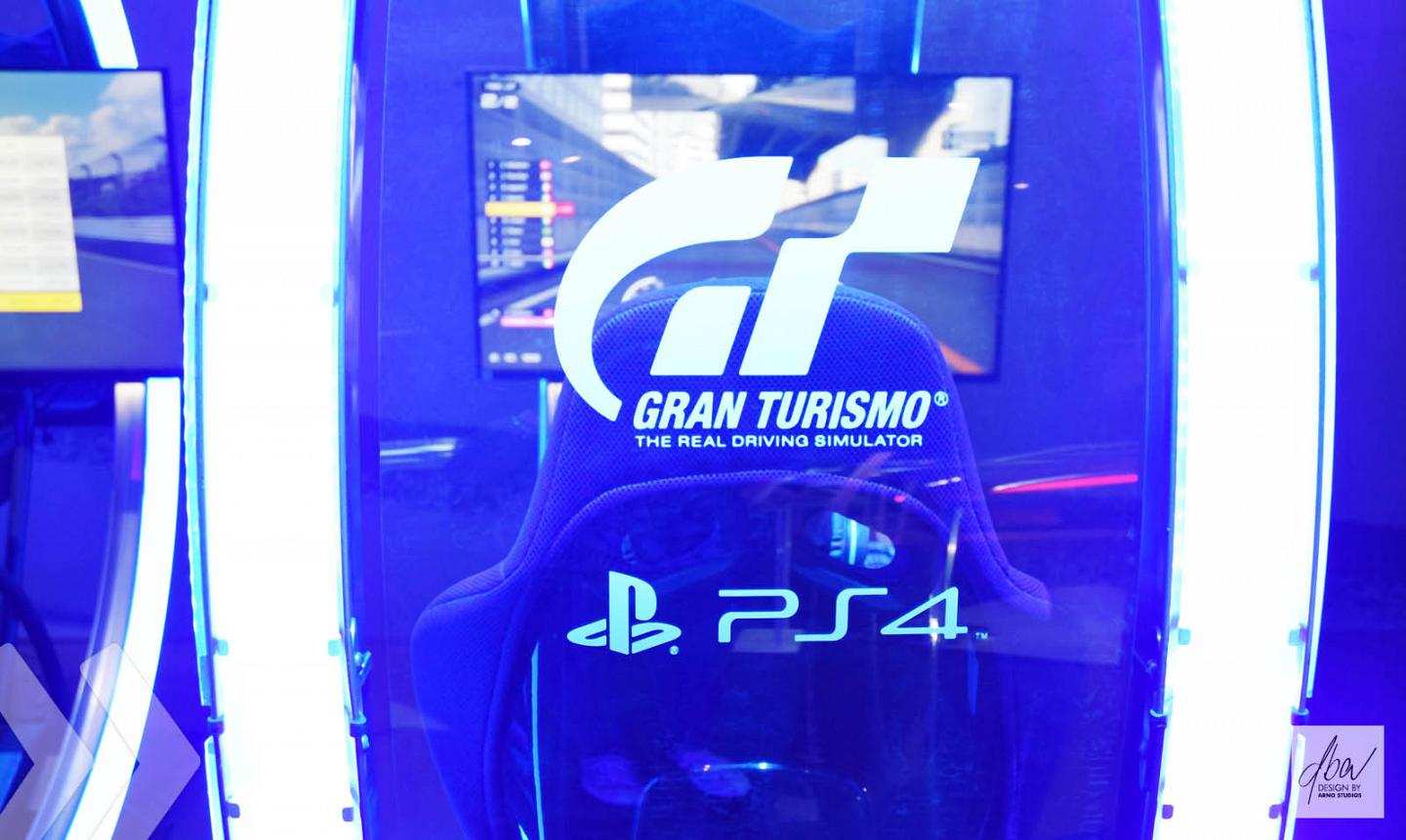 Sony PlayStation Grand Turismo Display 5