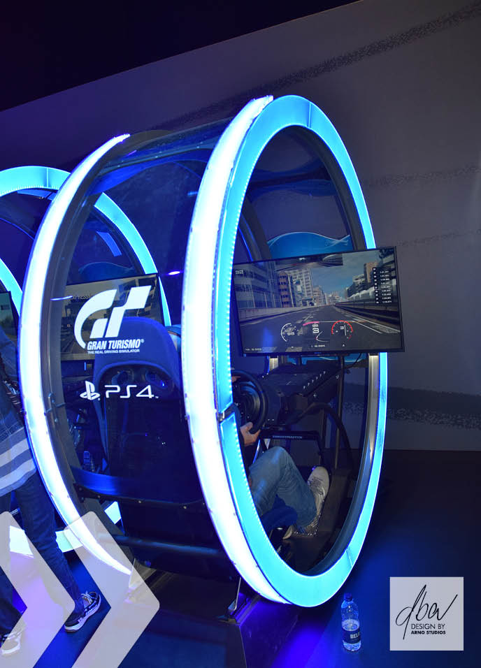 Sony PlayStation Grand Turismo Display 7