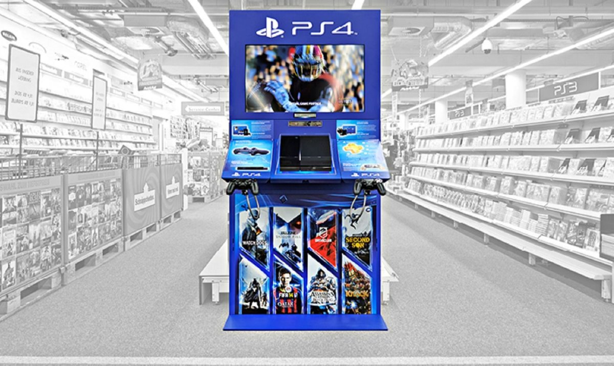 Sony Playstation 4 Display