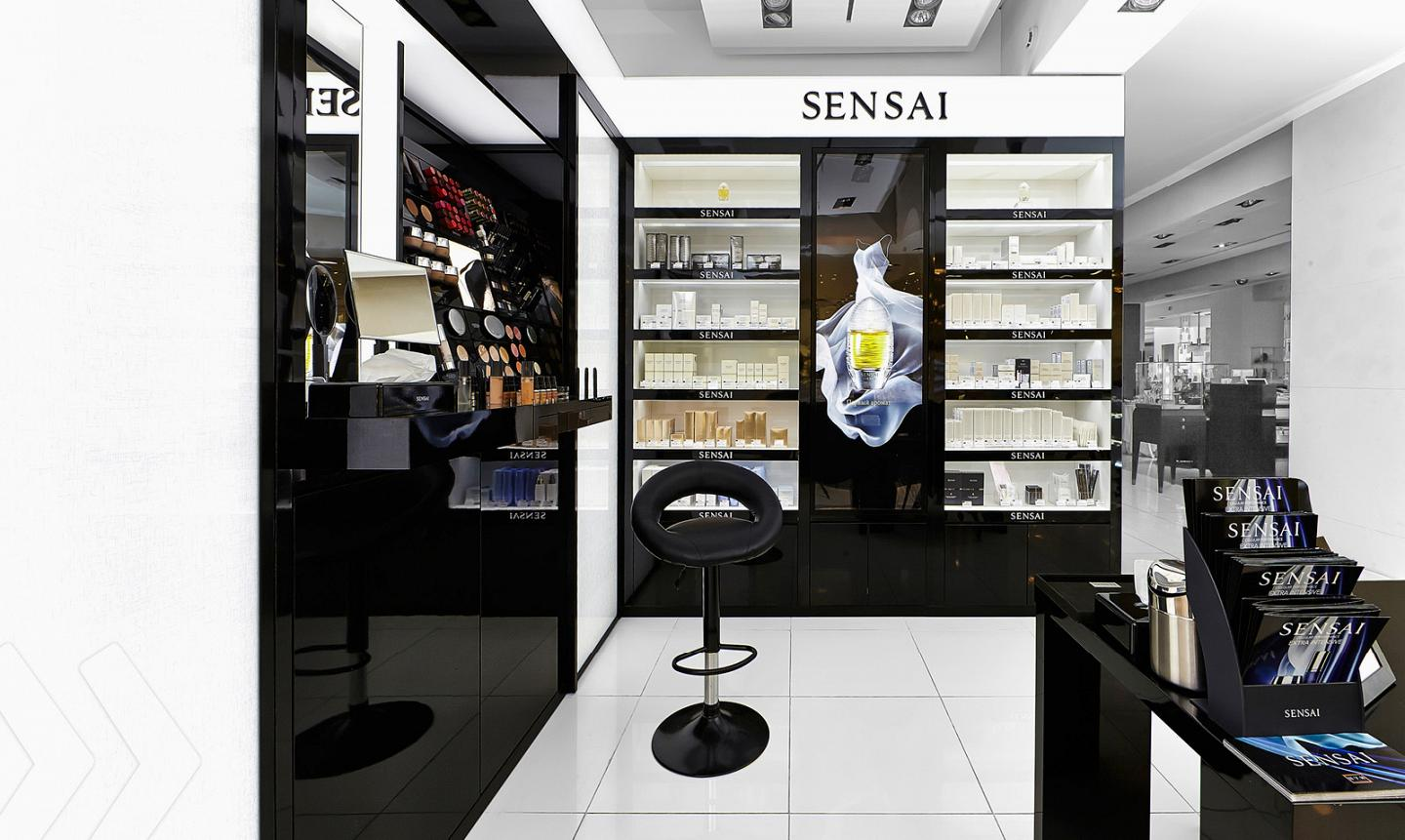 Kanebo Sensai Shop in Shop left
