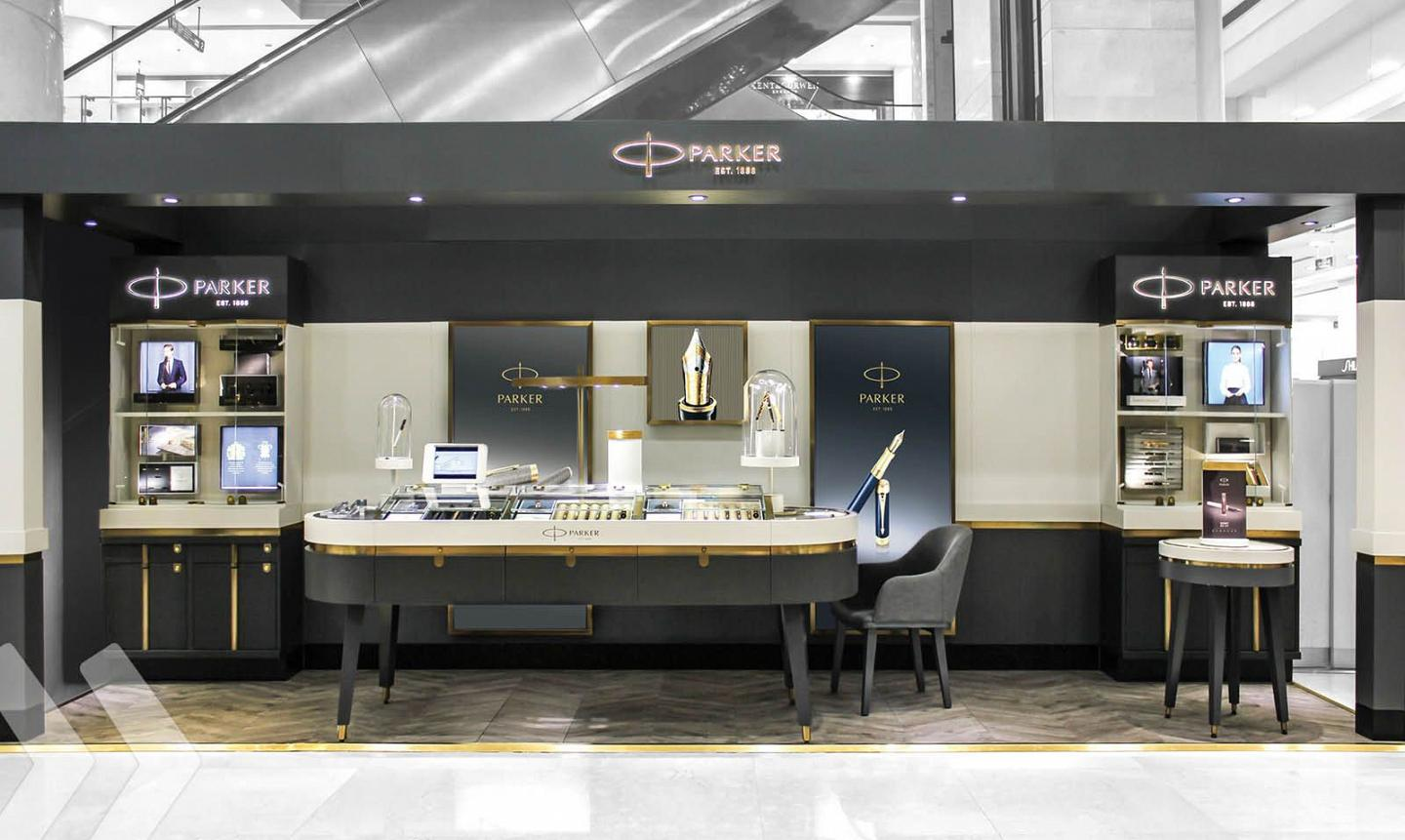 Parker Pen Shop in Shop 2