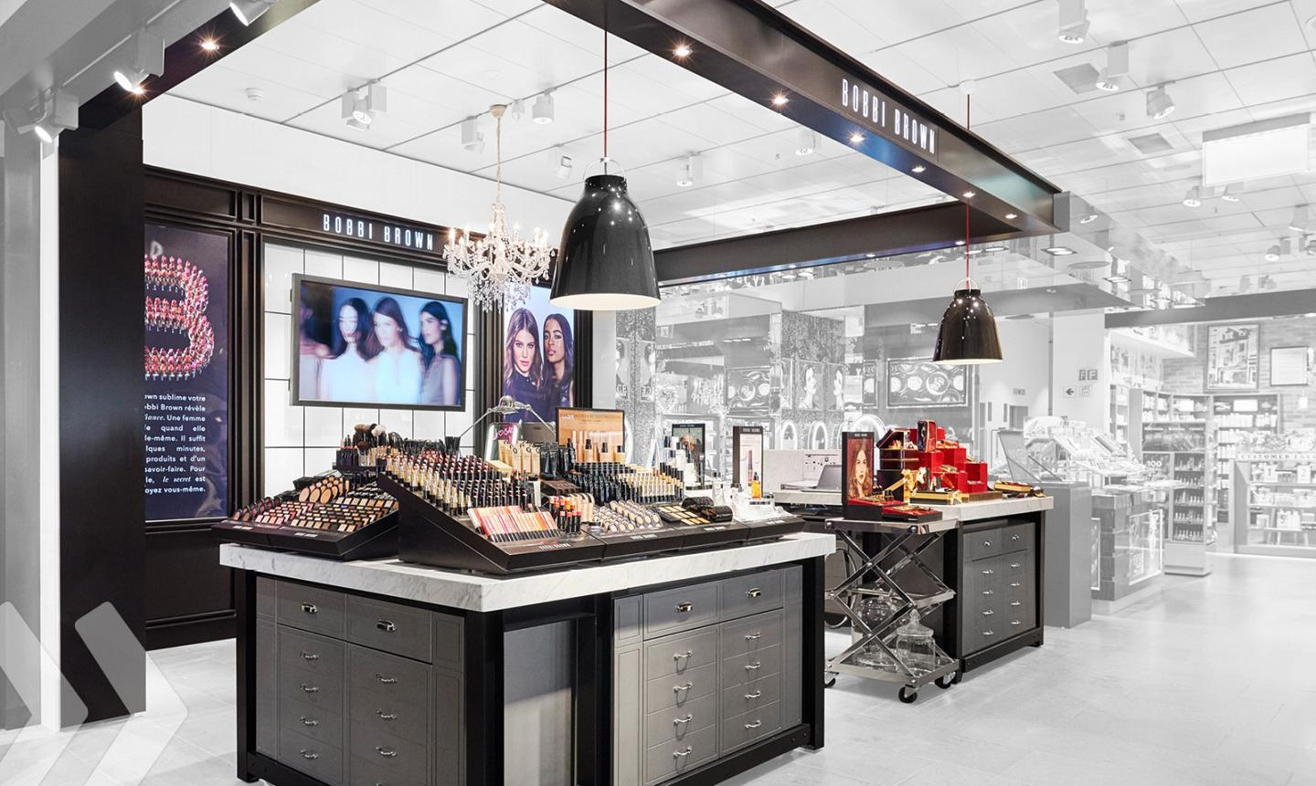 Shop Designs - Example Bobbi Brown