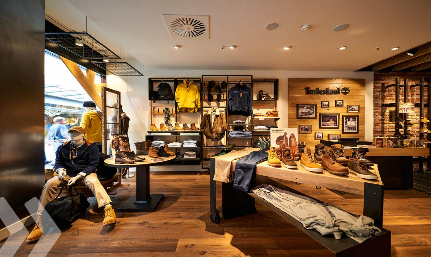 Shop Fitting Suppliers Timberland