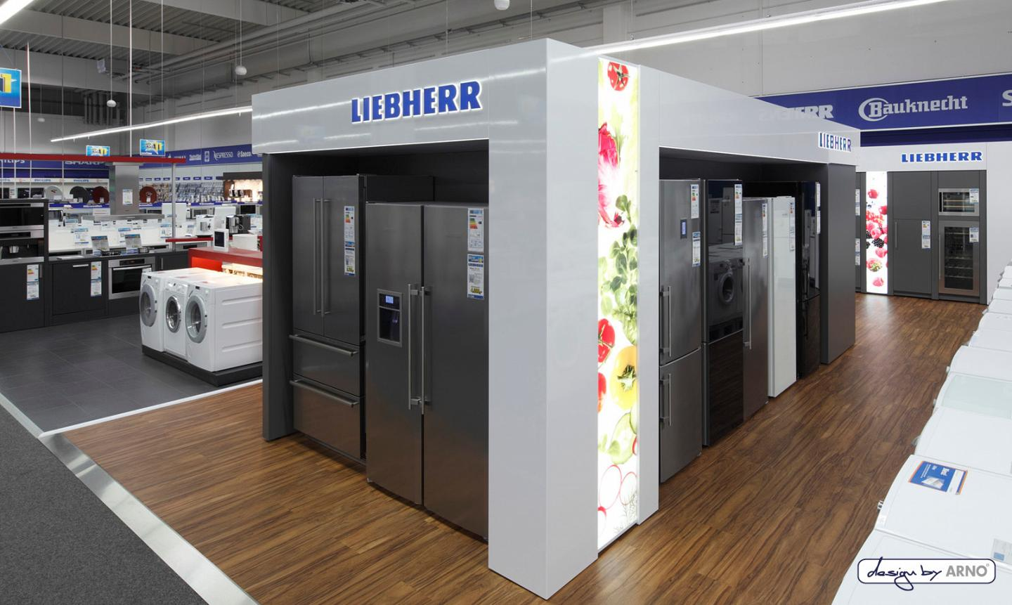 Shop in Shop System - Liebherr
